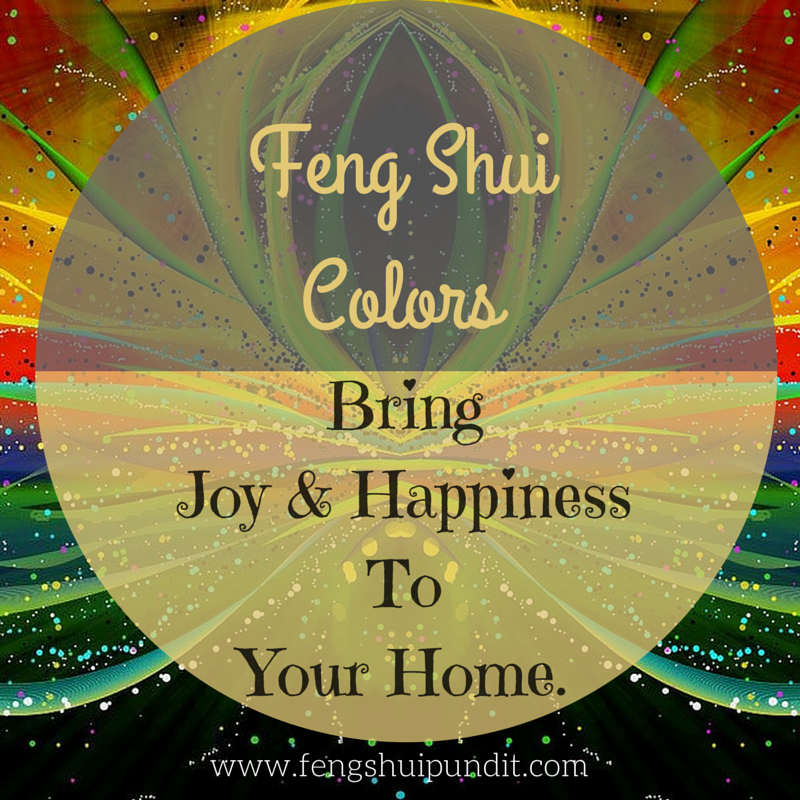 Feng Shui Colors Pundit