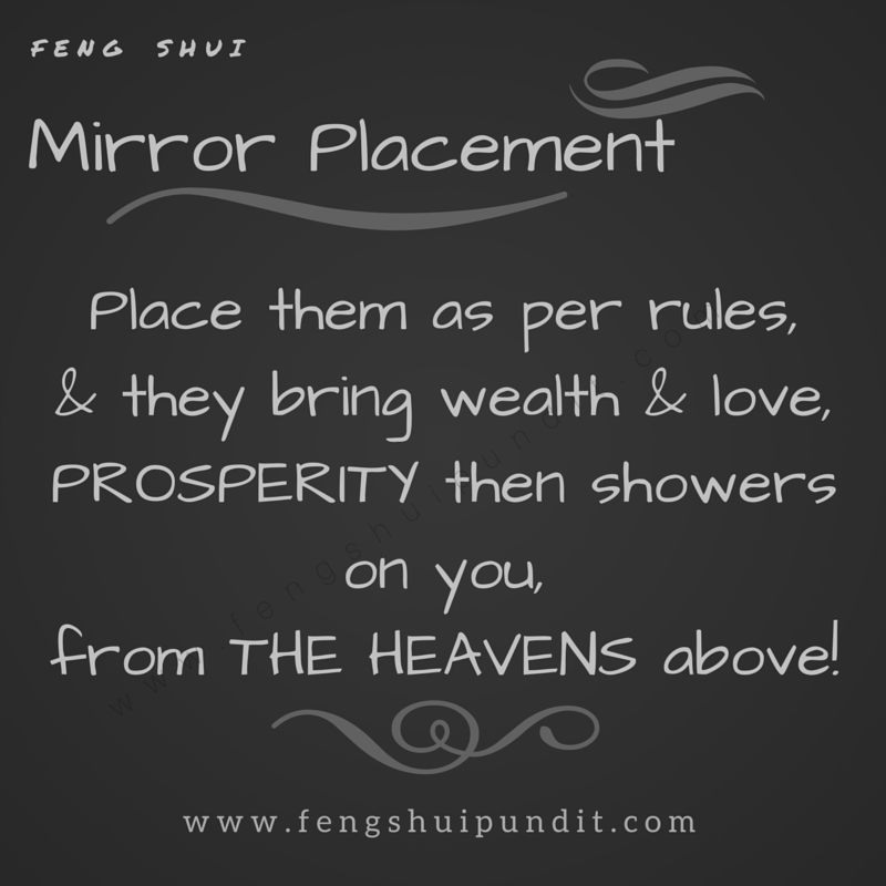 feng shui mirror placement how to do it right. Black Bedroom Furniture Sets. Home Design Ideas