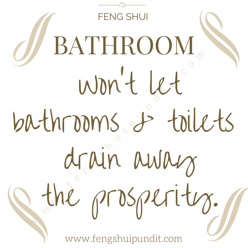 Feng Shui Bathroom How A Flushes Prosperity What You
