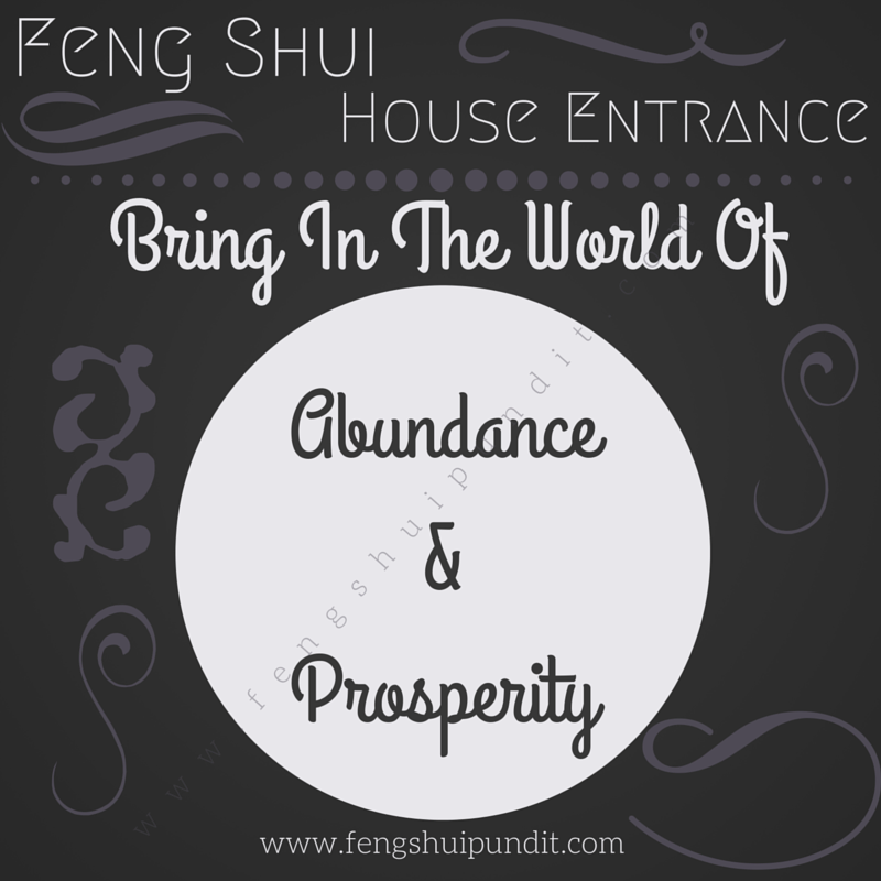 Feng Shui Home Entrance